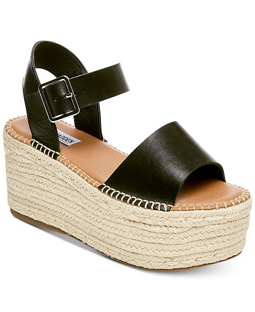 a9751cd0ca16 Steve Madden Women s Cabo Flatform Sandals   Reviews - Sandals ...