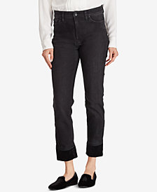Lauren Ralph Lauren Regal Straight Ankle Jeans
