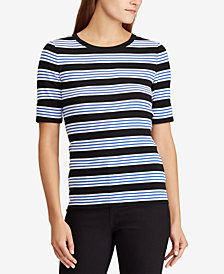 Lauren Ralph Lauren Striped Cotton Top