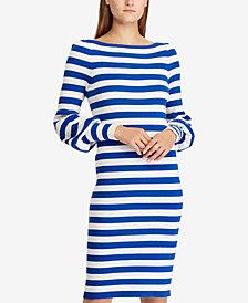 Lauren Ralph Lauren Puff-Sleeve Shirtdress