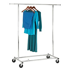 Expandable Chrome Garment Rack