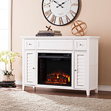 CLOSEOUT! Mill Creek Media Fireplace Console, Quick Ship