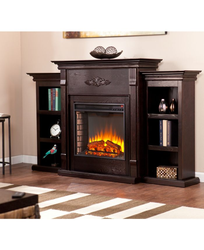 Southern Enterprises Whitehall Fireplace & Reviews - Furniture - Macy's