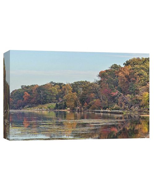 PTM Images Mason Neck Virginia Potomac River Decorative Canvas Wall Art