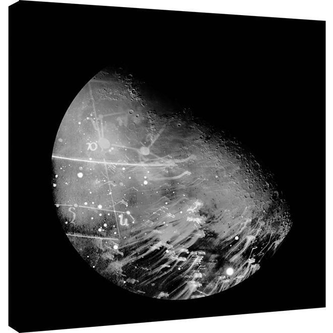 PTM Images Moon Phase 2 Decorative Canvas Wall Art