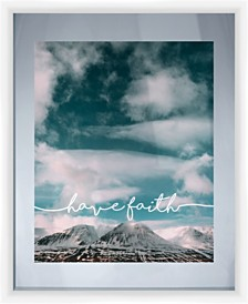 Living 31Have Faith Mountain Photography Decorartive Wall Art