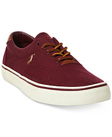 Polo Ralph Lauren Men's Thorton Lace-Up Sneakers