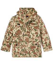 Polo Ralph Lauren Little Boys Camouflage Cotton Field Jacket