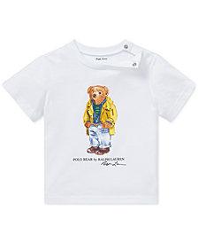 Polo Ralph Lauren Baby Boys Polo Bear Cotton T-Shirt