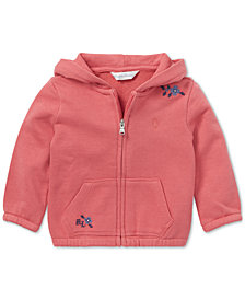 Polo Ralph Lauren Baby Girls Embroidered French Terry Hoodie