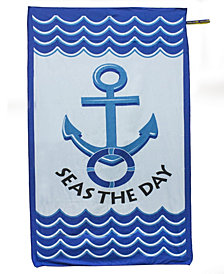 BeachTech HP Beach Towel - Seas The Day