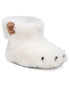 Sorel Baby Girls Bear Paw Waterproof Slippers