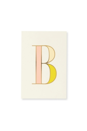 Kate Spade New York It's Personal Initial Collection Notepad, B