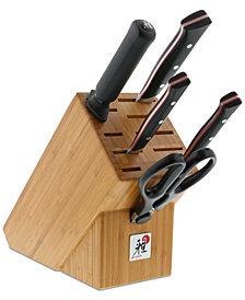 Miyabi Red Morimoto Edition 6-Pc. Cutlery Set