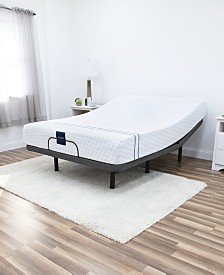 "MacyBed 10"" Plush Memory Foam Mattress , Quick Ship, Mattress in a Box - King with Remote Controlled Adjustable Base"