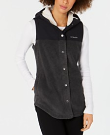 Columbia Benton Springs Overlay Fleece Vest