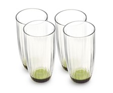 Villeroy & Boch Artesano Nature Green Large Tumbler, Set of 4