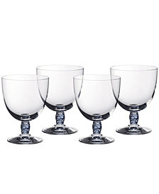 Villeroy & Boch Montauk Aqua Red Wine, Set of 4