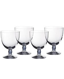 Villeroy & Boch Montauk Aqua Red Wine, Set of 4