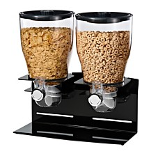 Zevro by Honey Can Do Designer Edition Double 17.5-Oz. Cereal Dispenser
