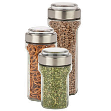 Honey Can Do 3-Pc. Stainless Steel Store and Measure Set