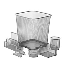 6-pc. Mesh Desk Set