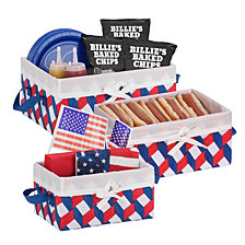 Honey Can Do Twisted Set of 3 Storage Baskets