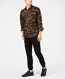 American Rag Men's Cargo Jogger Pants & Camo Shirt, Created for Macy's