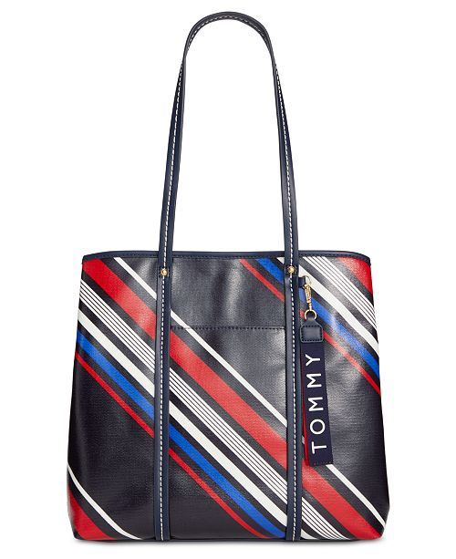 Tommy Hilfiger Roma Striped Tote