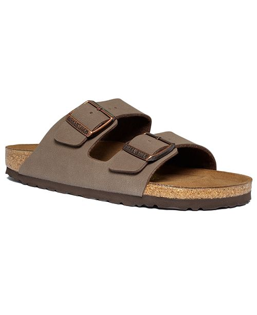 Birkenstock Men's Arizona 2 Band Birkibuc Sandals
