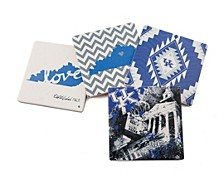 University of Kentucky Spirit Coasters, Set of 4