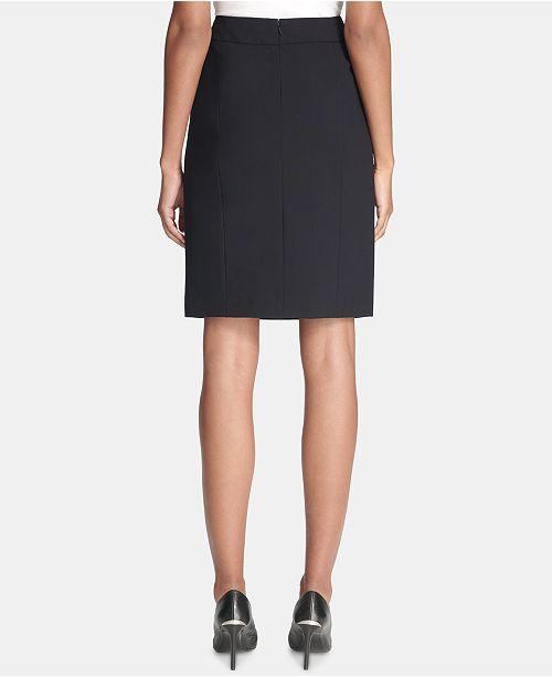 5b79089c0a Calvin Klein Pencil Skirt, Regular & Petite & Reviews - Skirts ...