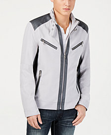 I.N.C. Men's Lasher Moto Jacket, Created for Macy's