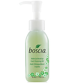 Receive a Free Deluxe Boscia MakeUp-BreakUp Cool Cleansing Oil, 50ml with any $45 Boscia purchase