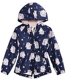 Epic Threads Big Girls Unicorn-Print Rain Jacket, Created for Macy's
