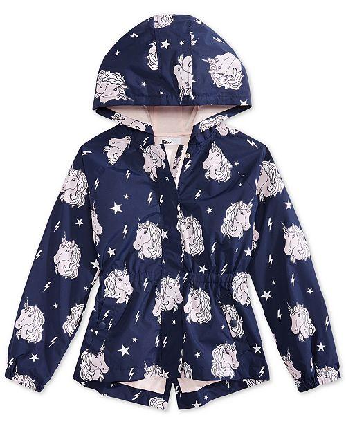 9810a530079f Epic Threads Big Girls Color-Changing Unicorn-Print Rain Jacket ...