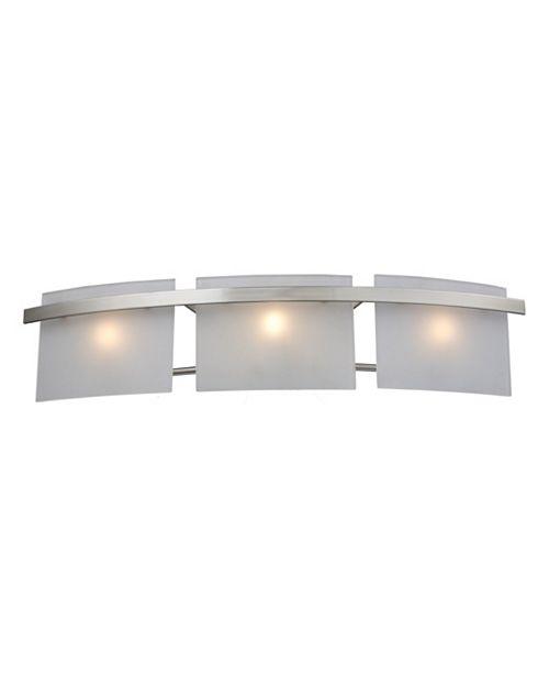 ELK Lighting Briston 3-Light Wb In Satin Nickel