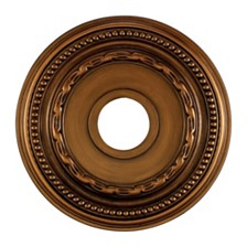 "Campione Medallion 16"" in Antique Bronze Finish"