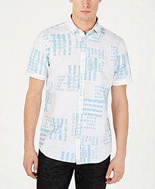 I.N.C. Men's City Stripe Shirt, Created for Macy's