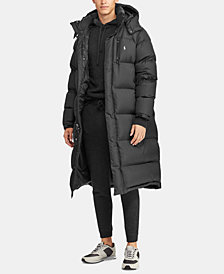 Polo Ralph Lauren Men's Hooded Ripstop Down Coat