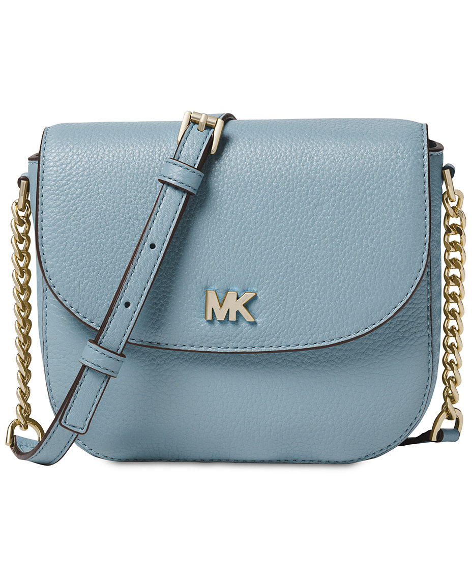 30f37e3cd5 Michael Kors Pebble Leather Half Dome Crossbody   Reviews - Handbags    Accessories - Macy s
