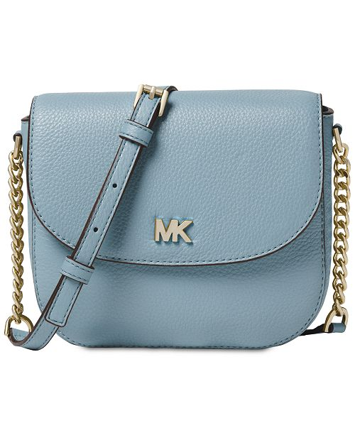 8ca7577ce81a Michael Kors Pebble Leather Half Dome Crossbody & Reviews - Handbags ...