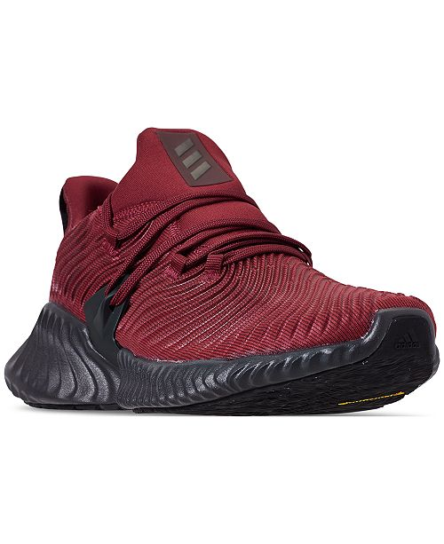 quality design f7558 9a6e4 ... adidas Mens AlphaBounce Instinct Running Sneakers from Finish ...