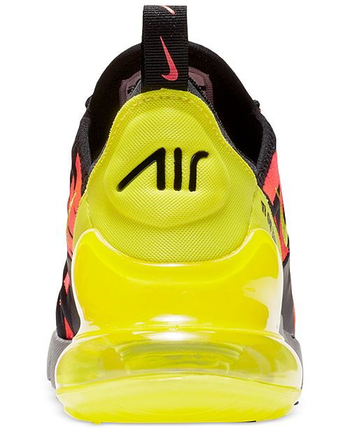 uk availability 1e1ec b01e0 Nike Boys' Air Max 270 Embroidered Casual Sneakers from ...