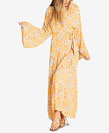 Billabong Juniors' Bell-Sleeve Wrap Dress