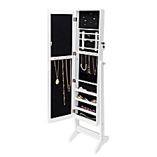 Honey Can Do Freestanding Jewelry Armoire