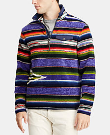 Polo Ralph Lauren Men's Great Outdoors Striped Fleece Pullover