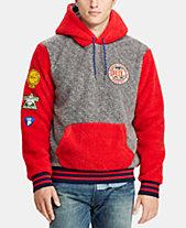 26da3e3806a72 Polo Ralph Lauren Men s Great Outdoors Colorblocked Fleece Sweatshirt