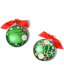 Coton Colors Visions Of Sugarplums Glass Ornament