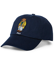 Polo Ralph Lauren Men's Polo Bear  Baseball Cap, Created for Macy's